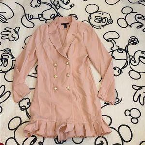 Pink pearl coat